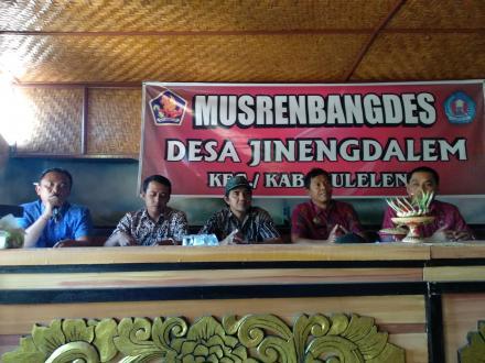 Musrenbangdes Tahun Anggaran 2019 Desa Jinengdalem