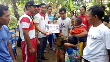 Penyerahan Bantuan BUMDES Peduli Kepada Anak Yatim Piatu