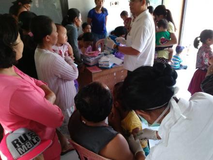 Imunisasi Campak dan Measles Rubella (MR)