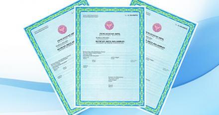 Persyaratan Dan Blanko Permohonan Akta Kelahiran Umum