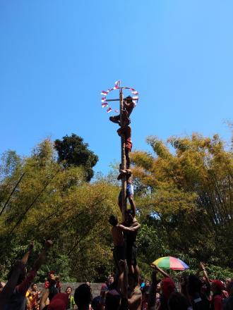 Kemeriahan HUT Kemerdekaan Republik Indonesia di Desa Jinengdalem
