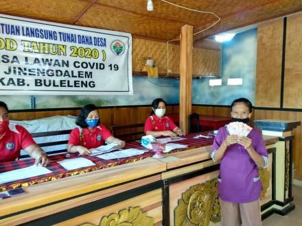 Pemerintah Desa Jinengdalem Kembali Salurkan BLT-DD Tahap III