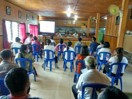Musyawarah Desa Tentang Penetapan Pendataan SDGs Desa Jinengdalem